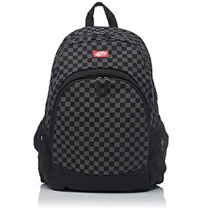 Vans Checkerboard Van Doren Backpack - Charcoal/Black
